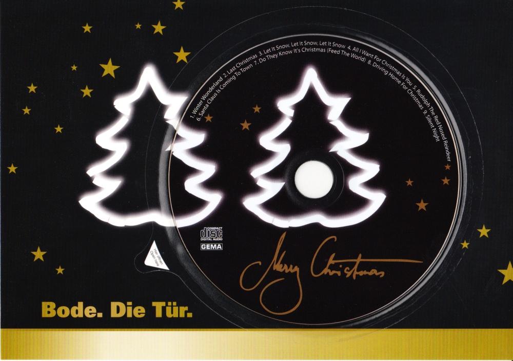 Standard Weihnachtsgrüße.Maxi Weihnachtsgrüße Mit Standard Cd Von Bode Premium